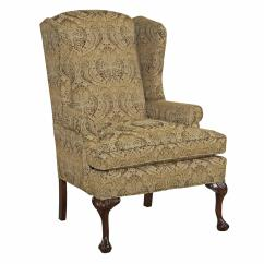 Accent Wingback Chairs Foam Seat Pads For Dining Kincaid Furniture Chair With