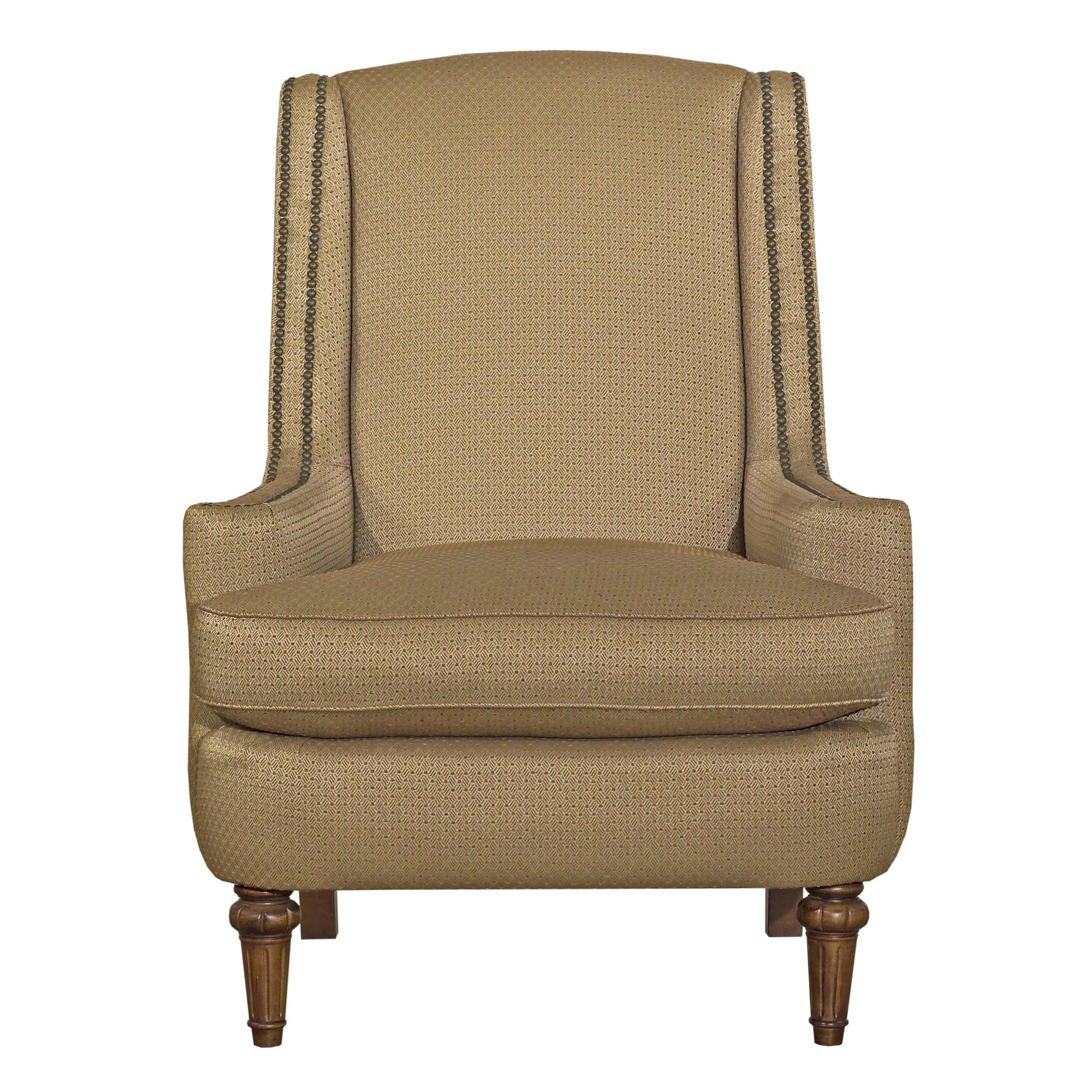 upholstered chair with nailhead trim carlisle dining accent chairs