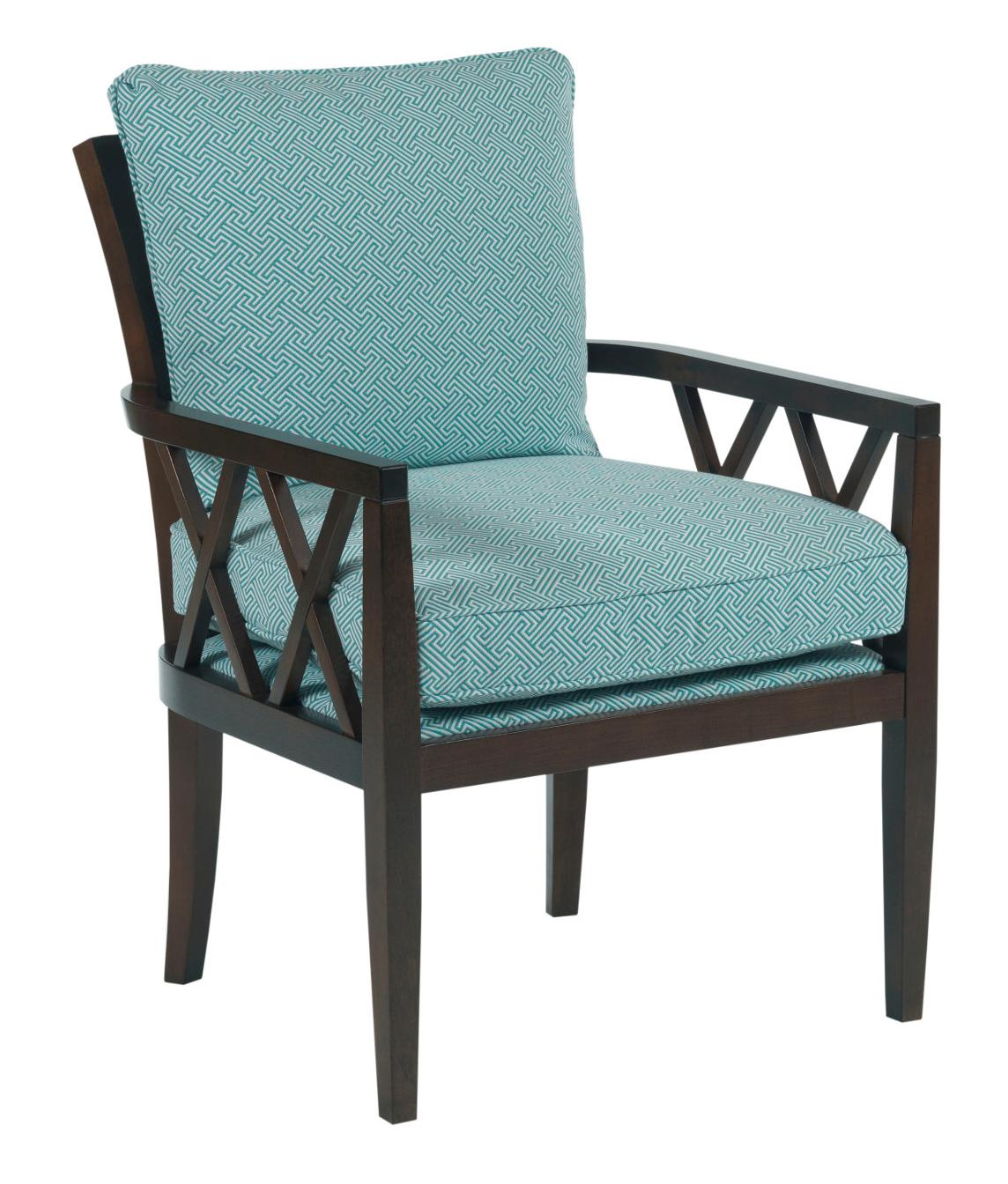 Wood Accent Chair Kincaid Furniture Accent Chairs Veranda Chair With Exposed