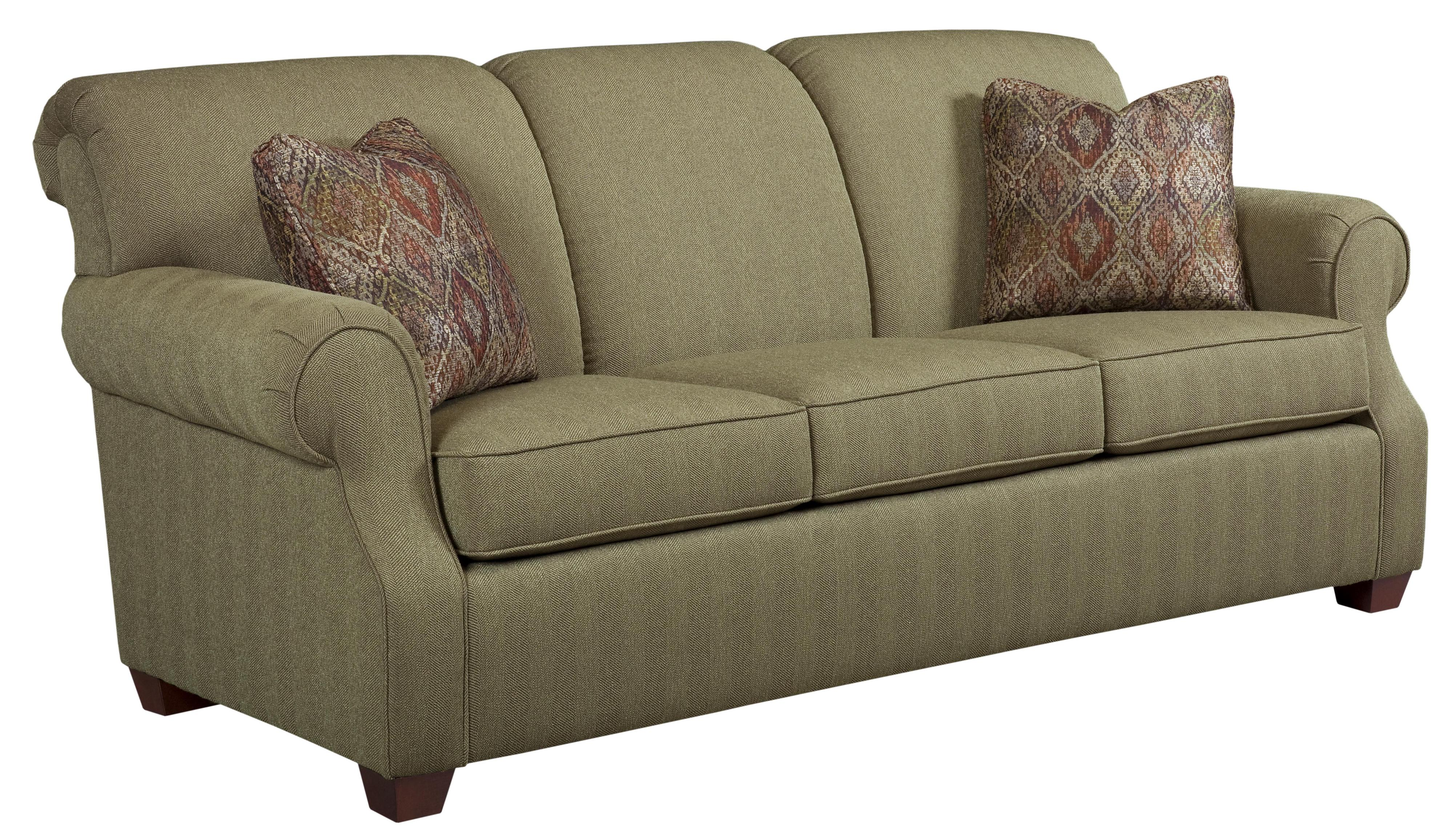 kincaid sofas reviews jennifer convertible sofa bed furniture lynchburg with rolled back and