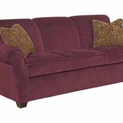 Kincaid Sofas Reviews Convertible Futon Sofa Bed Lounger Furniture Lynchburg With Rolled Back And