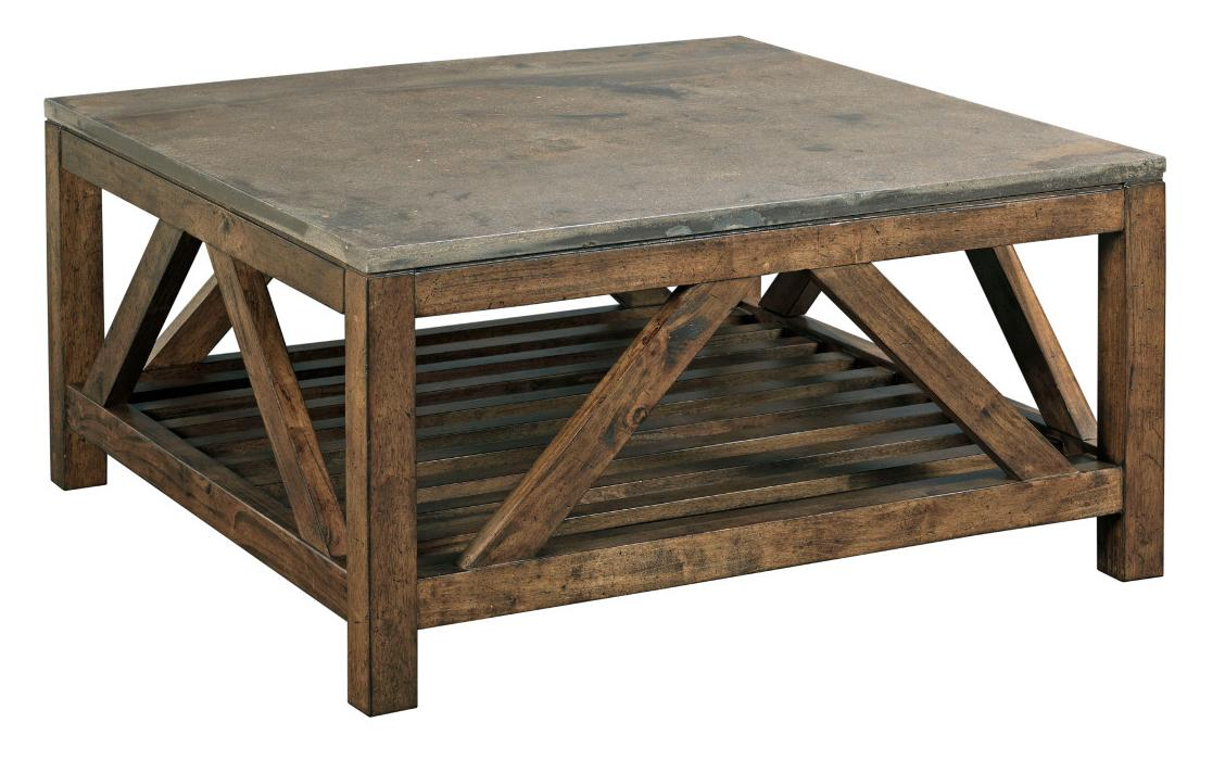Kincaid Furniture Mason 69 1133 Industrial Rustic Square
