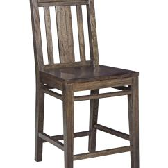 Colorful Wooden Kitchen Chairs Office Chair Walmart Kincaid Furniture Montreat 84 067v Contemporary Solid Wood