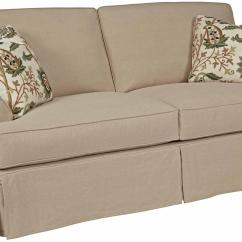 Loose Pillow Back Sofa Slipcovers Jensen Lewis Bed Kincaid Furniture Samantha 648 96 Two Seat