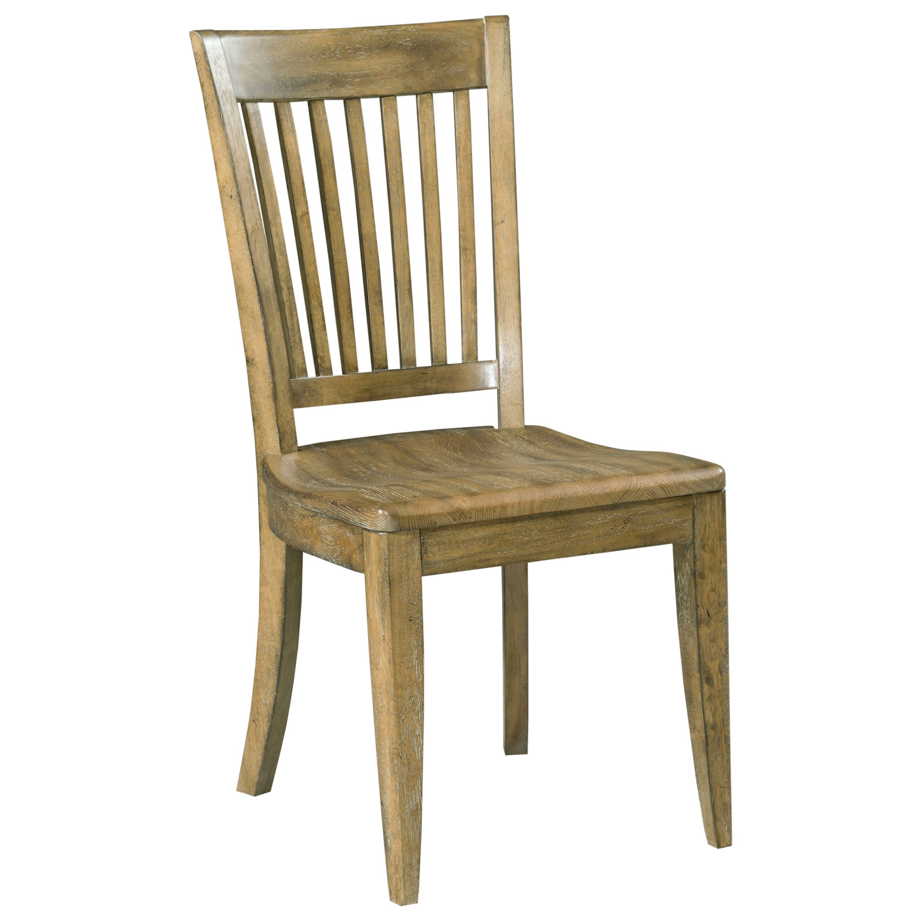 Nook Chair Kincaid Furniture The Nook 663 622 Solid Wood Slat Back