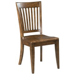 Wooden Slat Chairs Folding Chair Emoji Kincaid Furniture The Nook Solid Wood Back