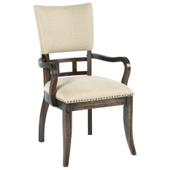 Upholstered Chair With Nailhead Trim Wingback Rocking Kincaid Furniture Wildfire Tweed Arm