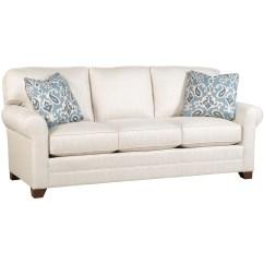Bentley Sofa By King Hickory Havertys Microfiber Sleeper Customizable 3 Seat Stationary