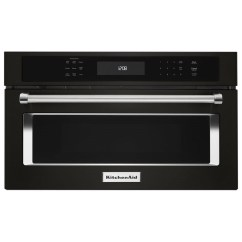 Kitchen Aid Microwaves Touch Free Faucet Kitchenaid Kmbp107ebs27 Quot Built In Microwave Oven With