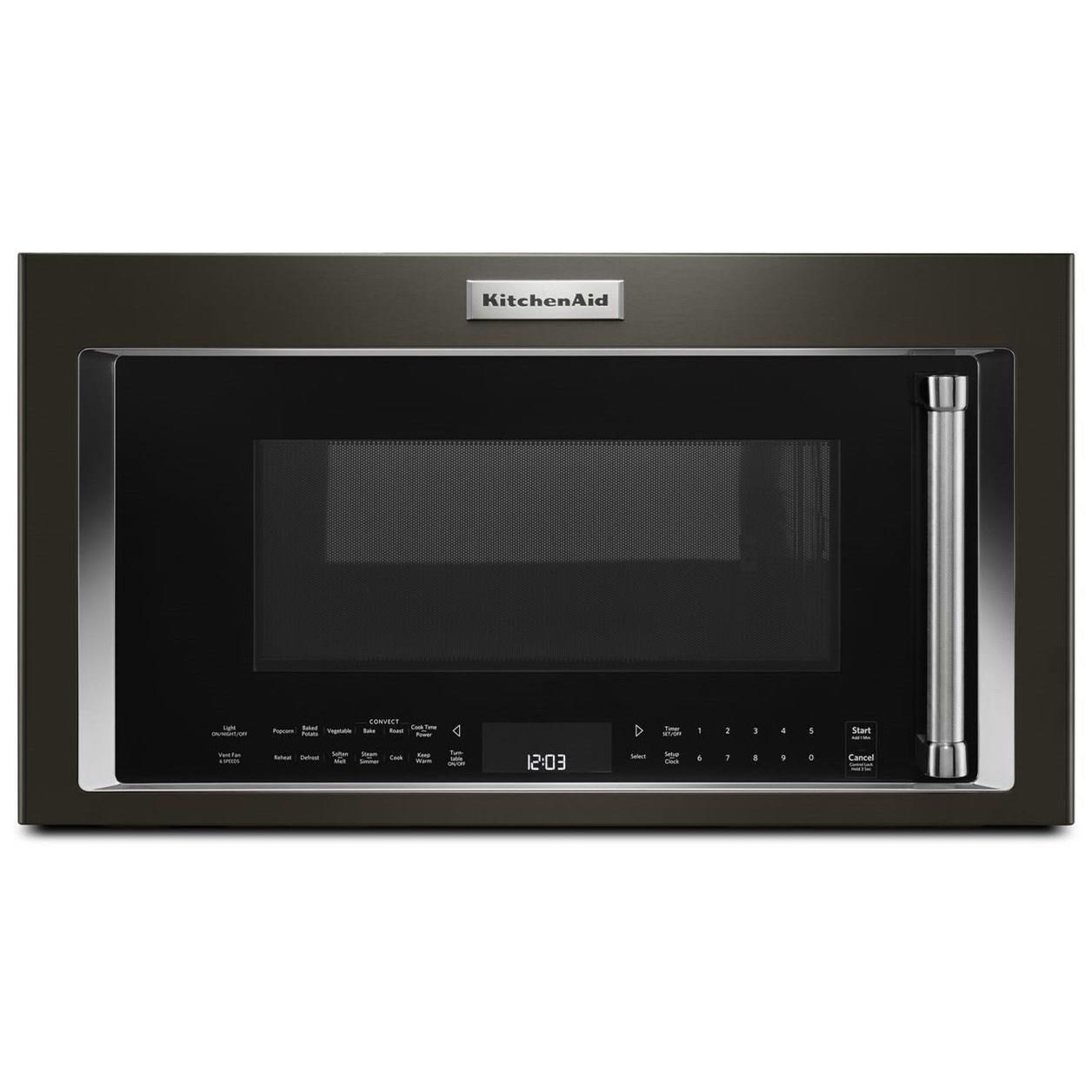 kitchen aid microwaves average size of sink kitchenaid kmhc319ebs1 9 cu ft 1000 watt convection