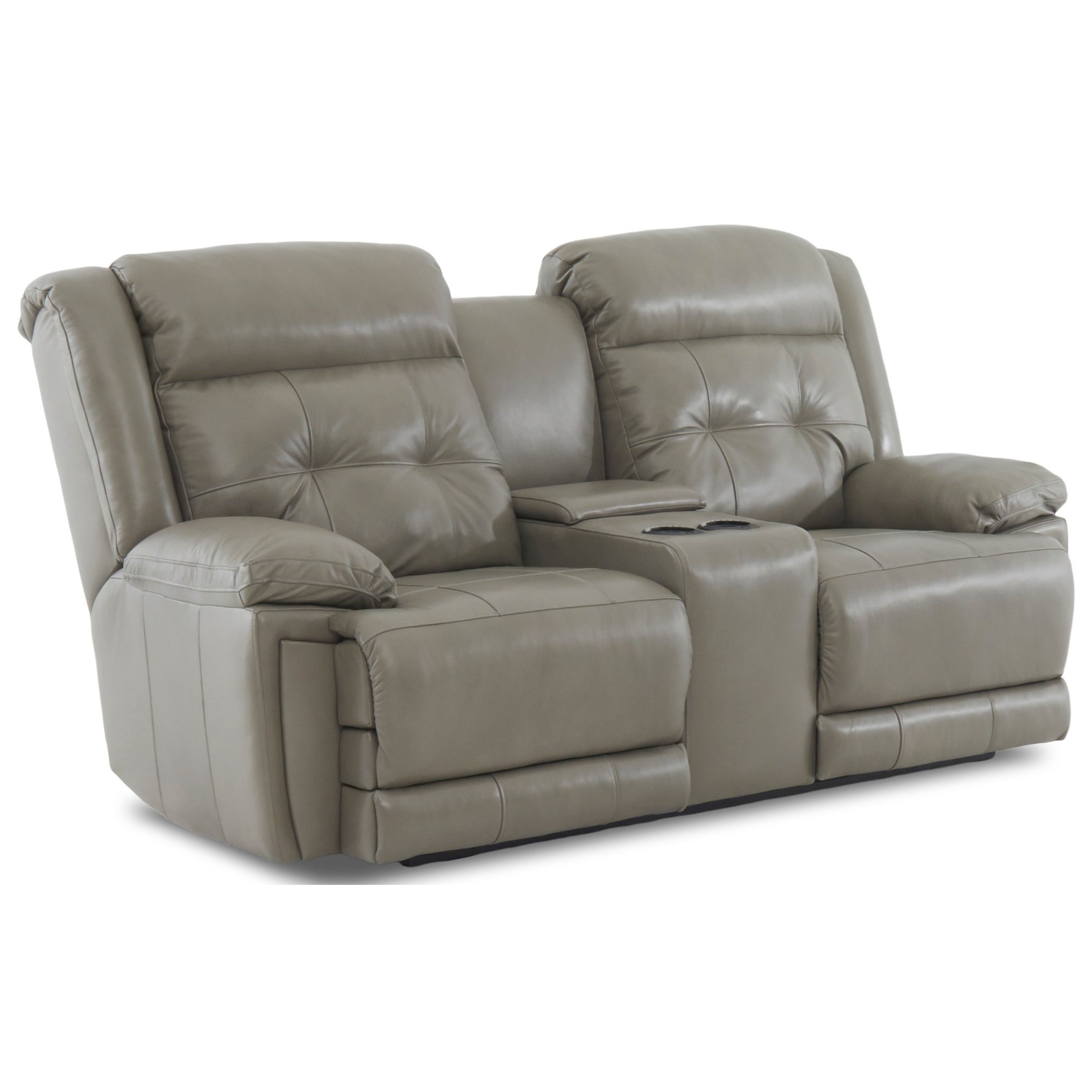 klaussner grand power reclining sofa repairs newport gwent mccall casual console loveseat