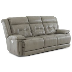 Klaussner Grand Power Reclining Sofa Vintage French Provincial Mccall Casual With