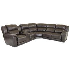 Klaussner Grand Power Reclining Sofa Convertible Mattress Replacement Albus Three Piece Sectional
