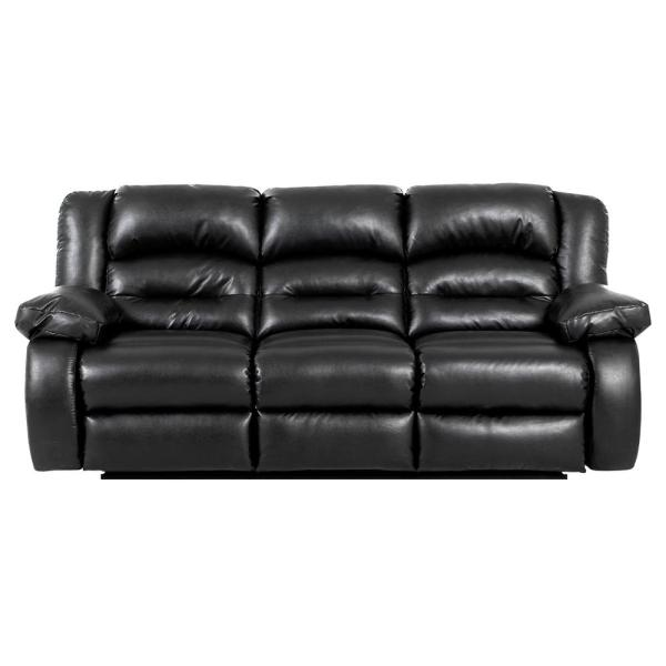 Klaussner Leather Reclining Sofa