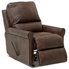 Klaussner Rocking Chair Folding Leather Baja Casual Reclining Olinde 39s