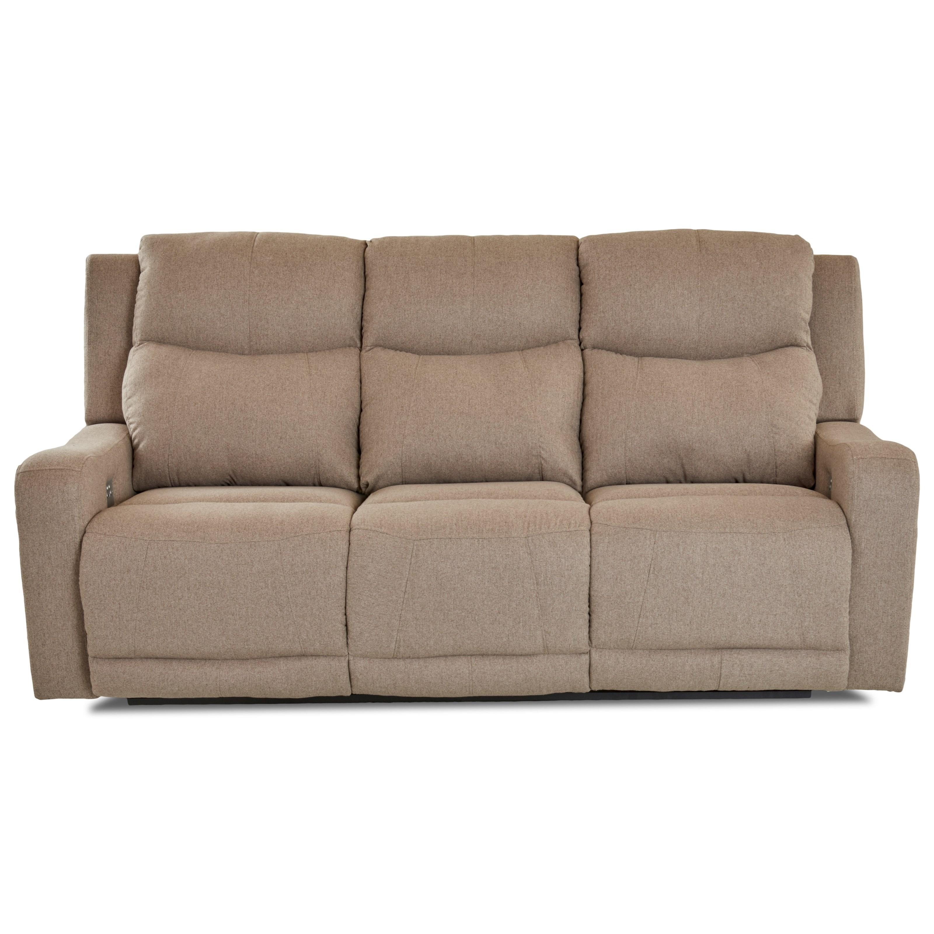klaussner grand power reclining sofa sectional with chaise barnett headrest