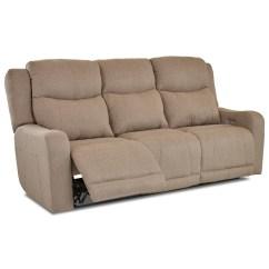 Klaussner Grand Power Reclining Sofa Dining Benches Barnett With Headrest