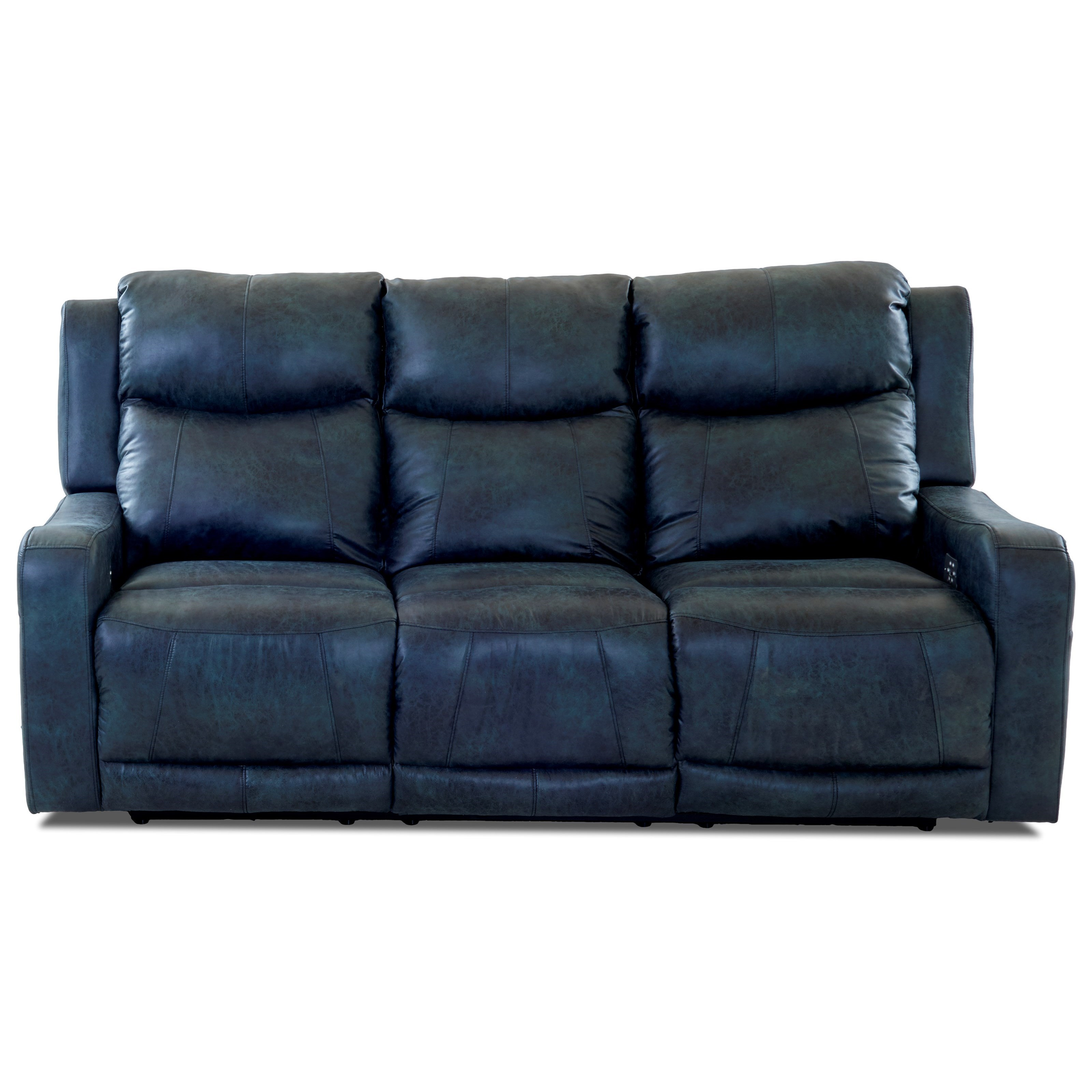 two cushion power reclining sofa light grey uk klaussner barnett with