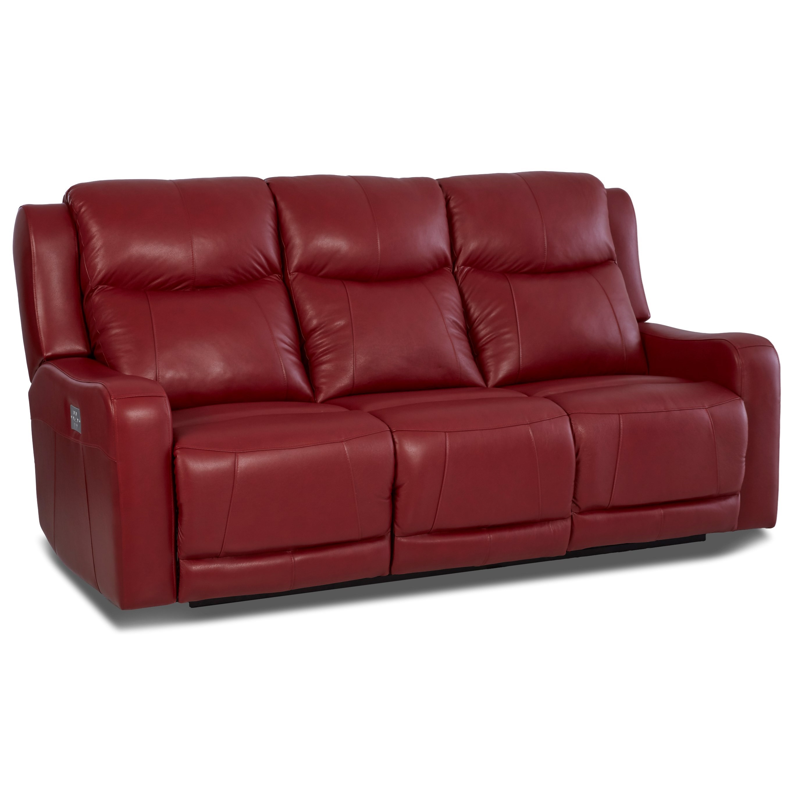 crescent power sofa recliner with headrest velvet fabric delhi klaussner barnett lv74803 6 pwrs reclining