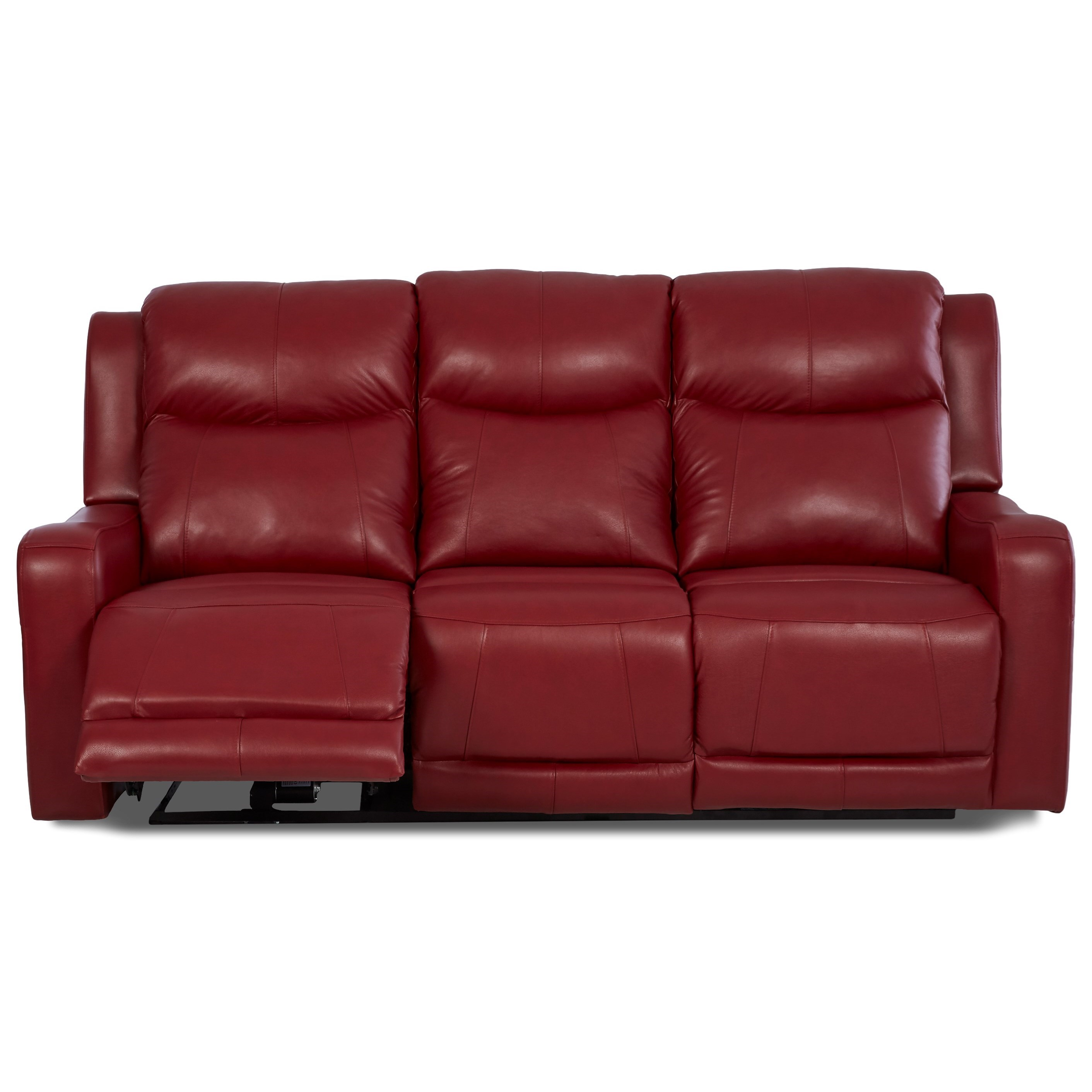 two cushion power reclining sofa scandinavian murah klaussner barnett lv74803 6 pwrs with