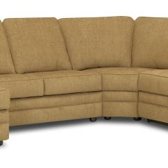 Left Chaise Sofa Sectional Slipcover Factory Seconds Uk Klaussner Belleview Reclining With Side