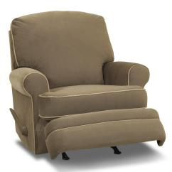 Swivel Chair Online India Cheap Chairs For Living Room Klaussner Belleview Classic Recliner With Rolled Arms