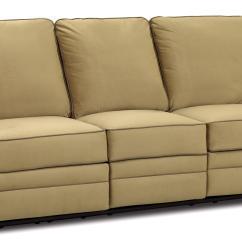 Two Cushion Power Reclining Sofa Cotton Cover Australia