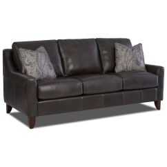 Klaussner Sofa And Loveseat Set Harmony Belton Lt10200ap S Leather With Track Arms