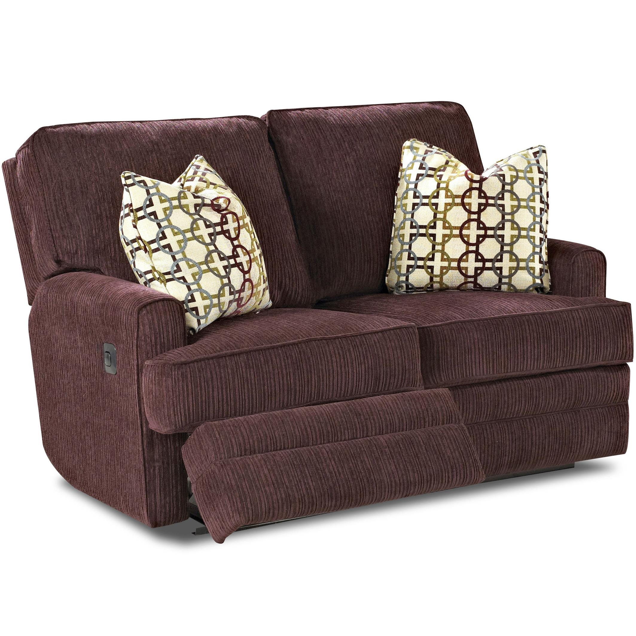 cloud track arm leather two seat cushion sofa macys chloe klaussner callahan casual power reclining love with