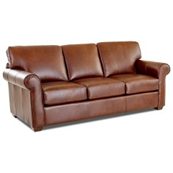 Sofa Wood Frame Exposed Uk Reception Klaussner Canoy Transitional With Rolled Arms And