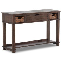 Sofa Table Storage Baskets Futon Company Vienna 3 Seater Double Bed Klaussner International Chambers 301 826 Stbl Casual