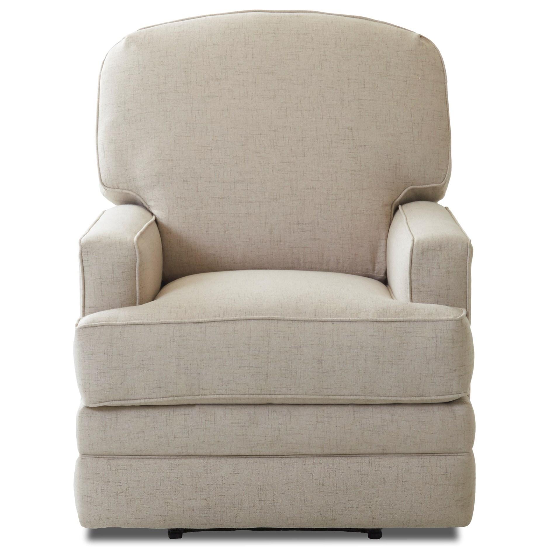 swivel rocking recliner chair mesh lounge klaussner chapman casual reclining