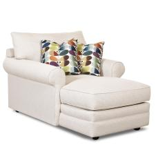 Value City Furniture Marco Chaise Sofa Preston Manufacturer Klaussner Comfy Casual Lounge