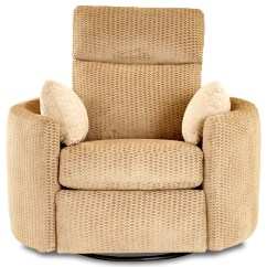 Swivel Chair Value City Patterned Fabric Recliner Chairs Klaussner Cosmo Contemporary Reclining