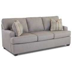 Klaussner Sleeper Sofa Mattress Options Best Showroom In Bangalore Cruze Contemporary With Track Arms