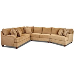 3 Pc Sectional Sofa With Recliners Air Lounge Review India Klaussner Declan Three Piece Raf