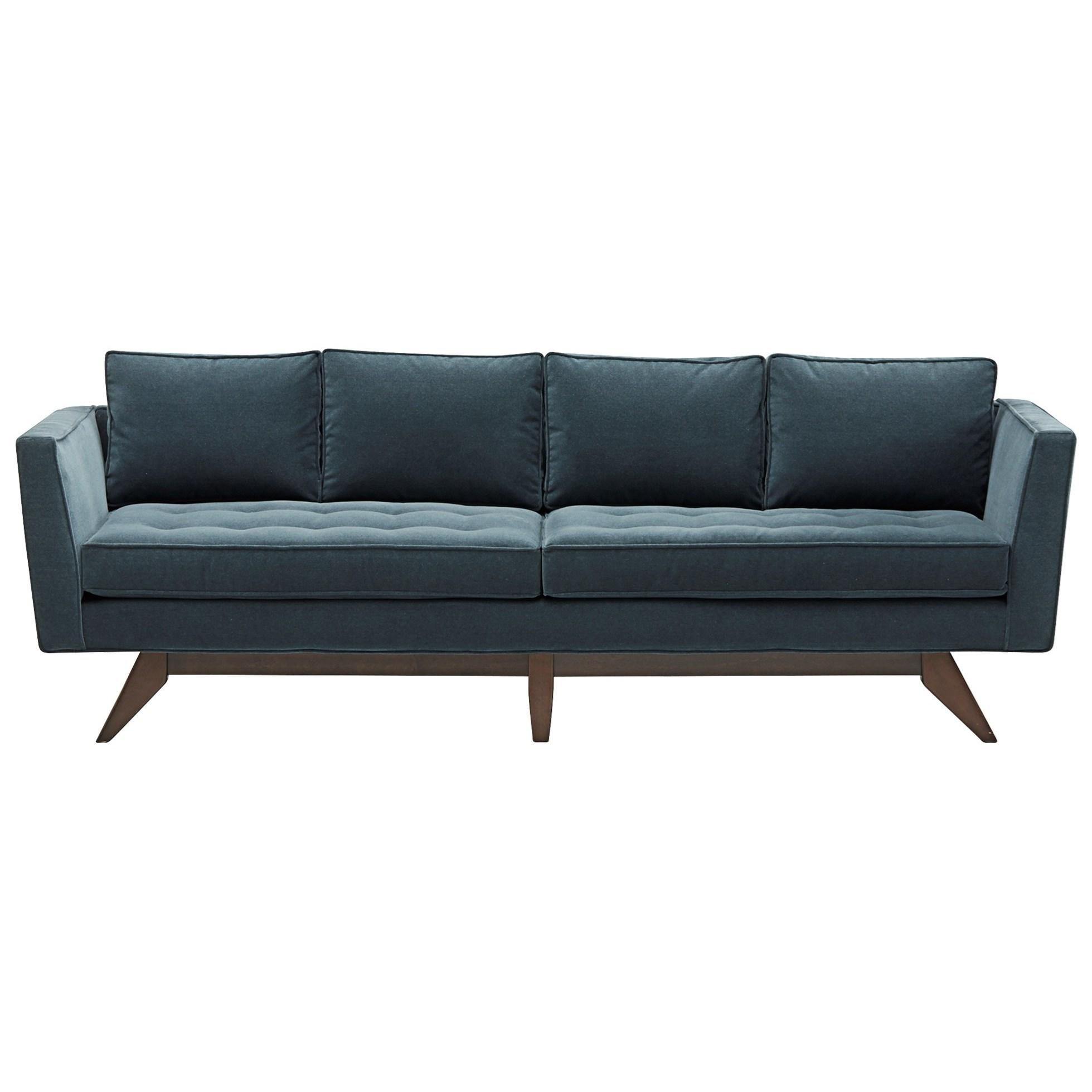 angled sofa legs gambar kartun spiderman bed inoac klaussner fairfax mid century modern style with