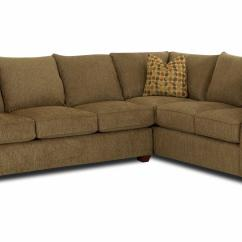 Klaussner Sofa And Loveseat Set Hide A Bed Fletcher Transitional 2 Piece Sectional