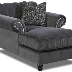 Rolled Arm Sofa Chaise Convertible Bed Coaster Gus Sectional Klaussner Flynn Traditional With Button Tufted Back