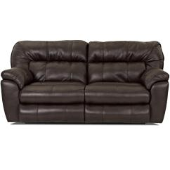 Klaussner Grand Power Reclining Sofa How To Make Frame Step By Freeman Casual Love Seat With