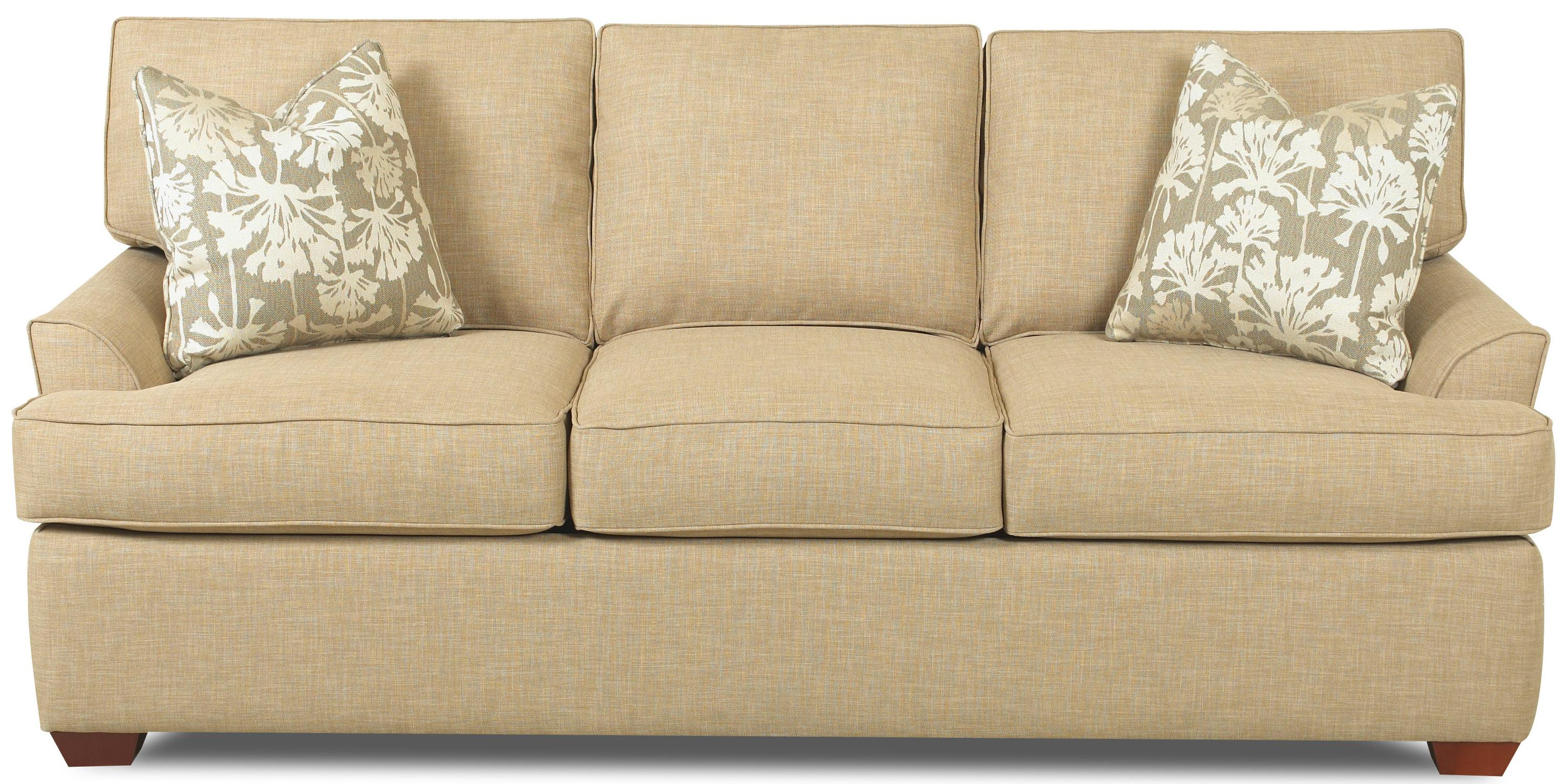 queen sofa bed no arms transformer contemporary 3 seat dreamquest sleeper with