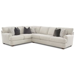 2 Pc Laf Sectional Sofa Raymour And Flanigan Sleeper Sofas Klaussner Haynes Two Piece With Corner