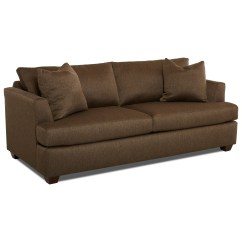 Sleeper Sofa No Arms Simmons And Loveseat Klaussner Jack Queen Inner Spring With Track