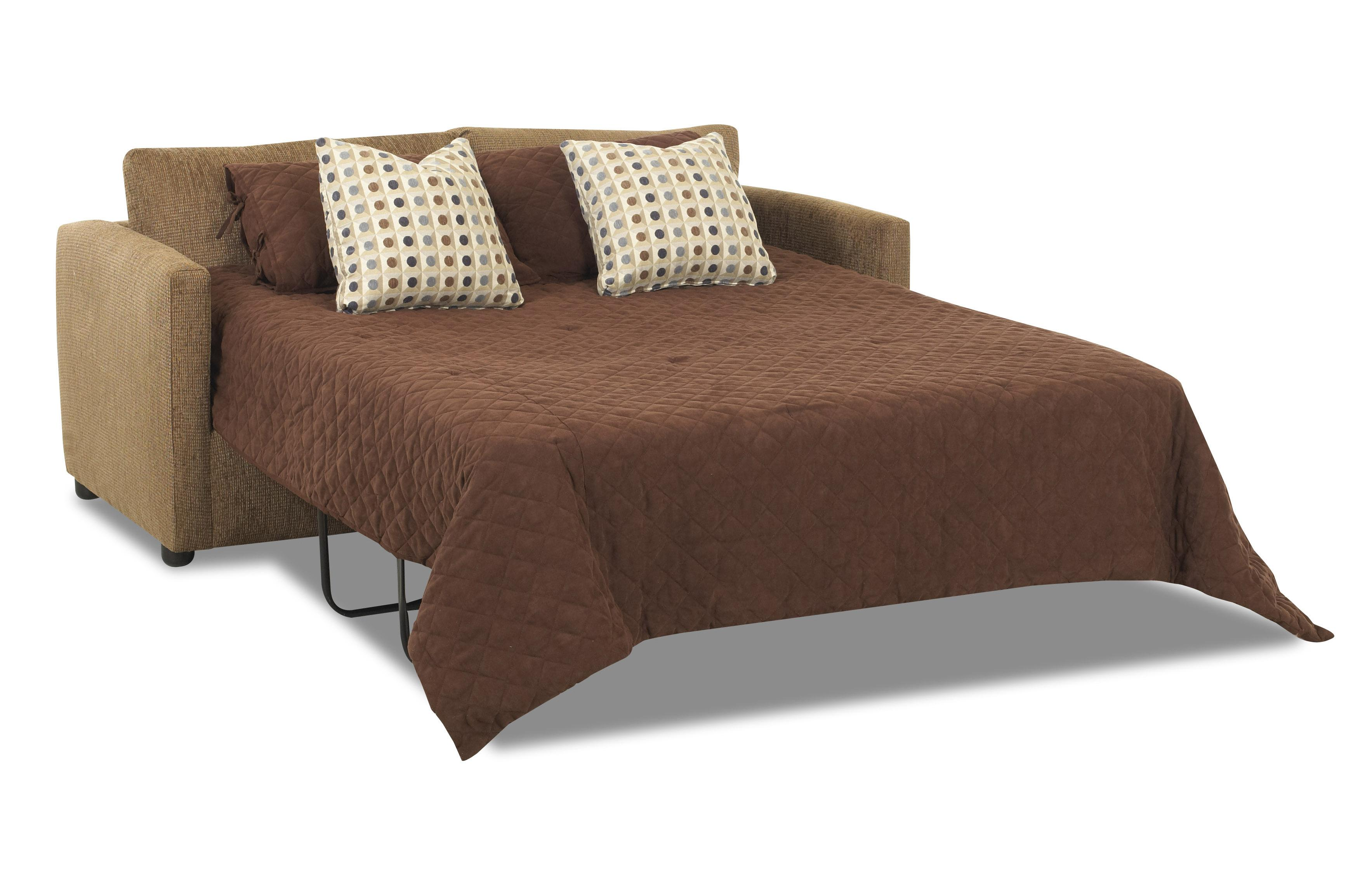queen sleeper sofa sectionals cushy jacobs casual by klaussner wolf furniture