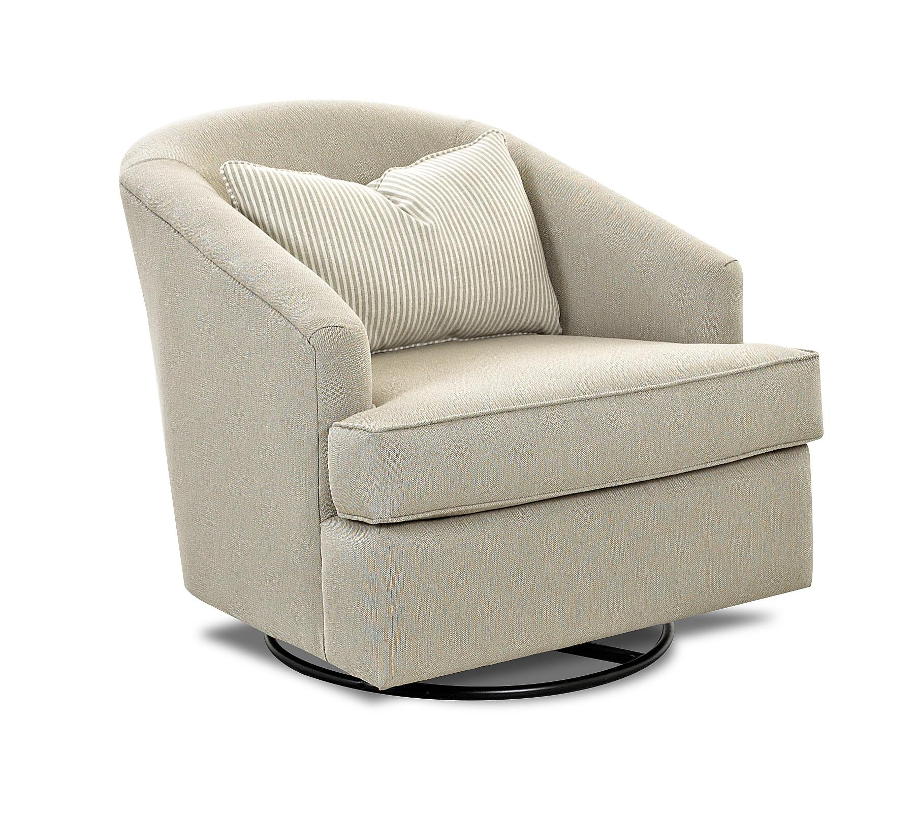 swivel chair value city how much do covers cost to rent klaussner chairs and accents devon glide with