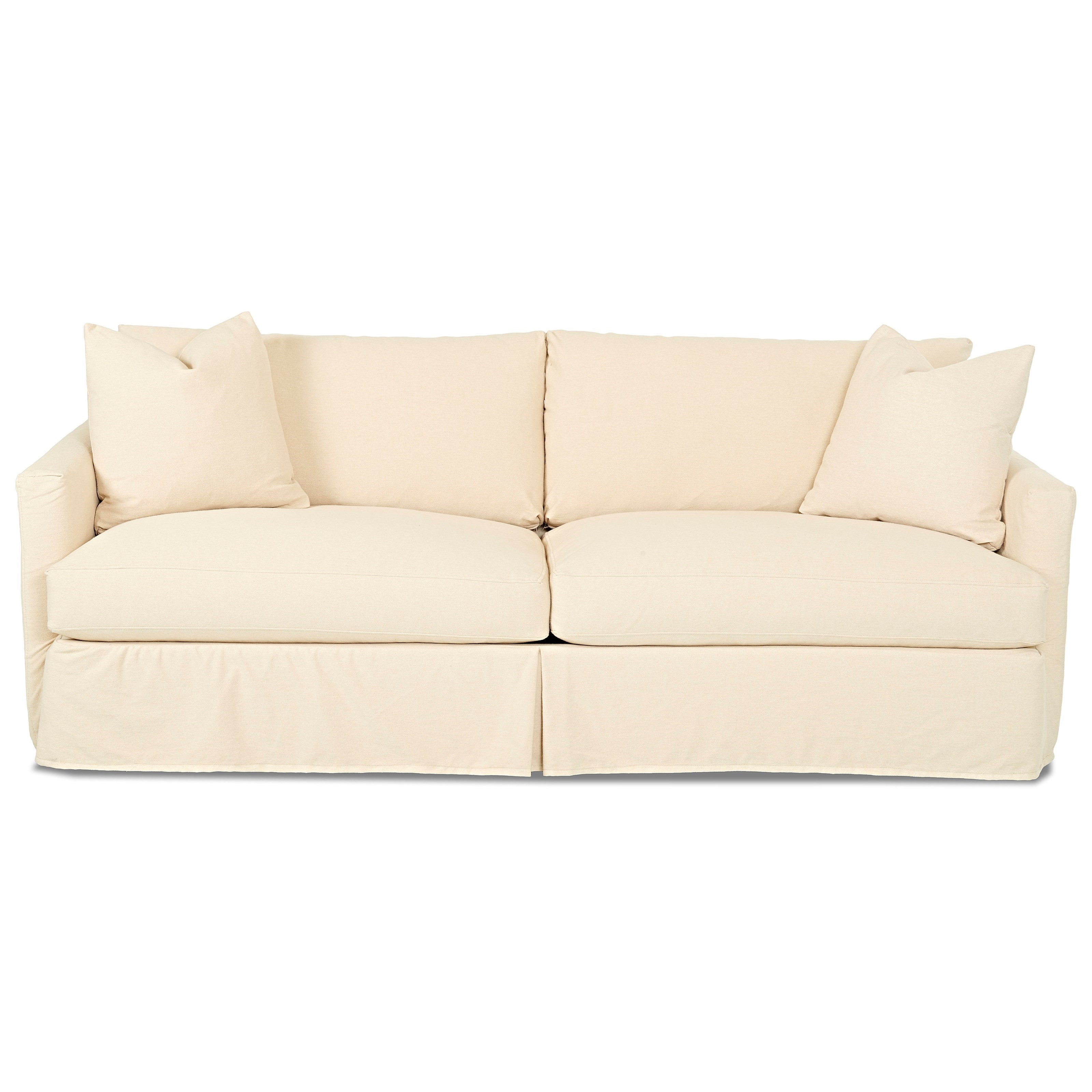 bright colored sofa covers free bed gumtree london klaussner leisure d4133 xs extra large with slipcover