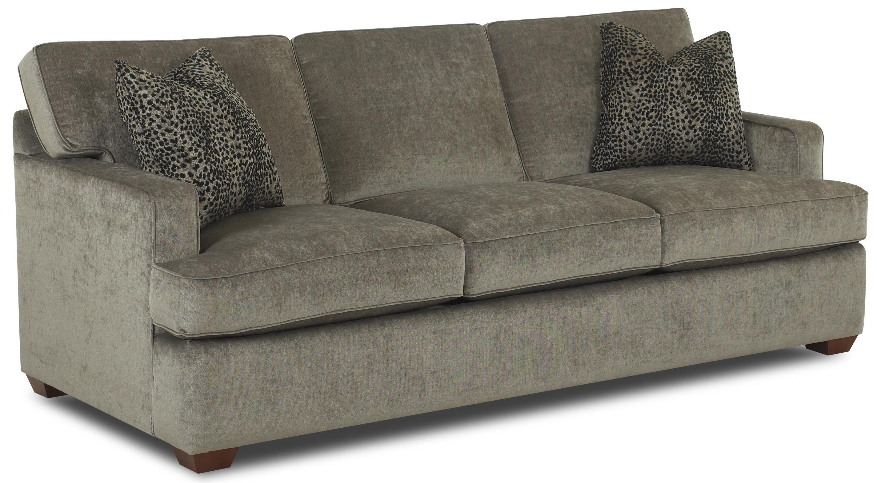 klaussner loomis sectional sofa low price contemporary with track arms