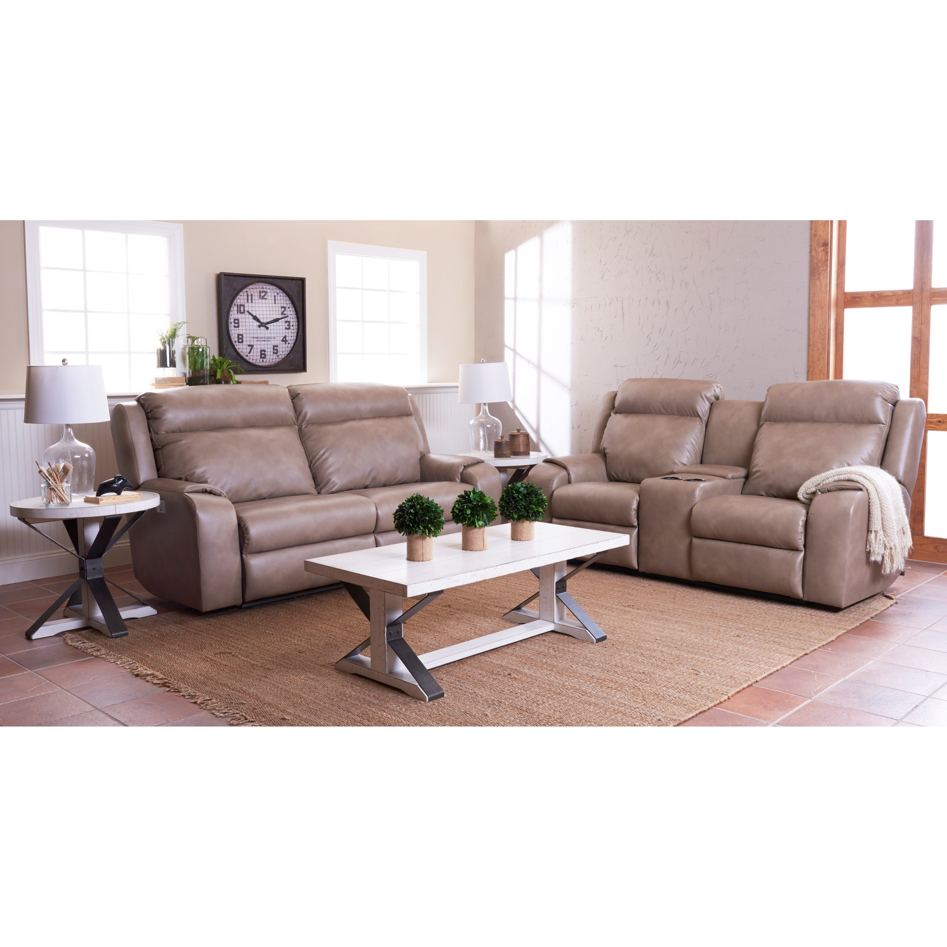 pomona sofa beautiful leather sets klaussner merlin two seat reclining with wide seats