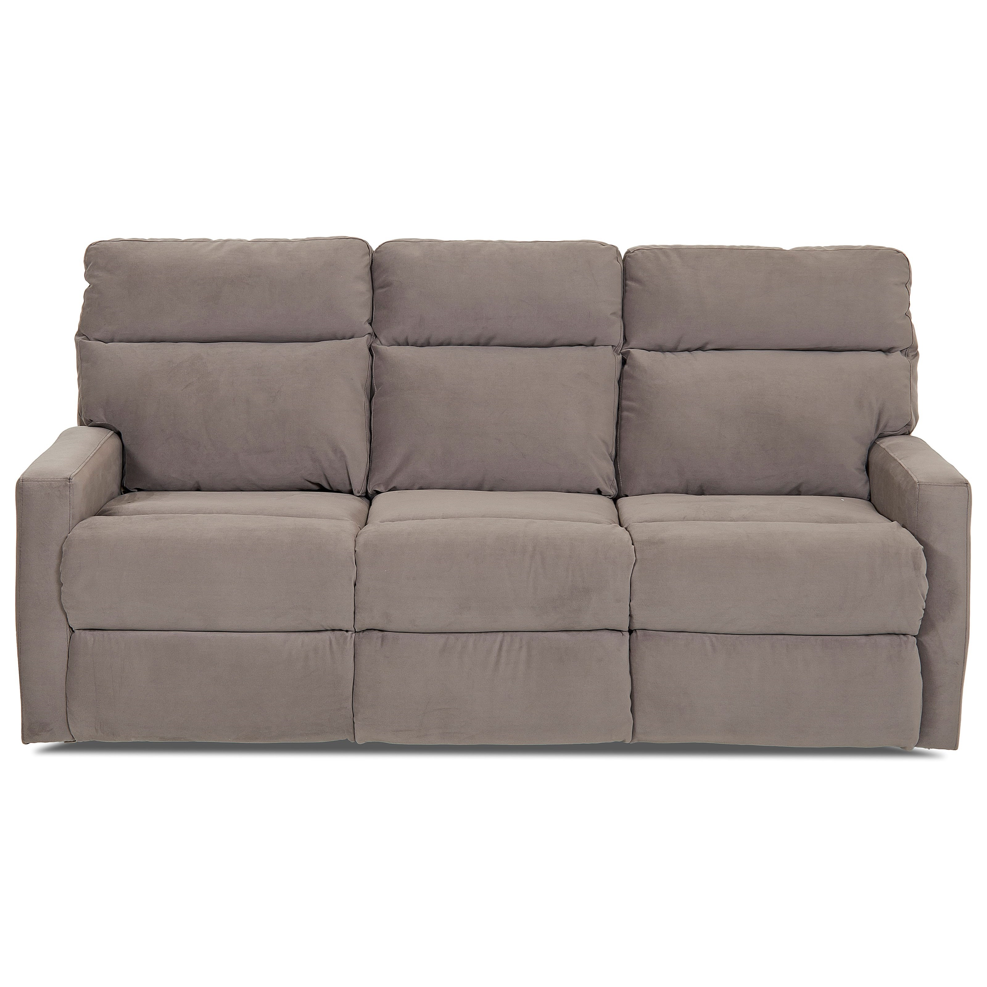 klaussner sofa and loveseat set serta upholstery elizabeth sleeper monticello reclining with soft track arms