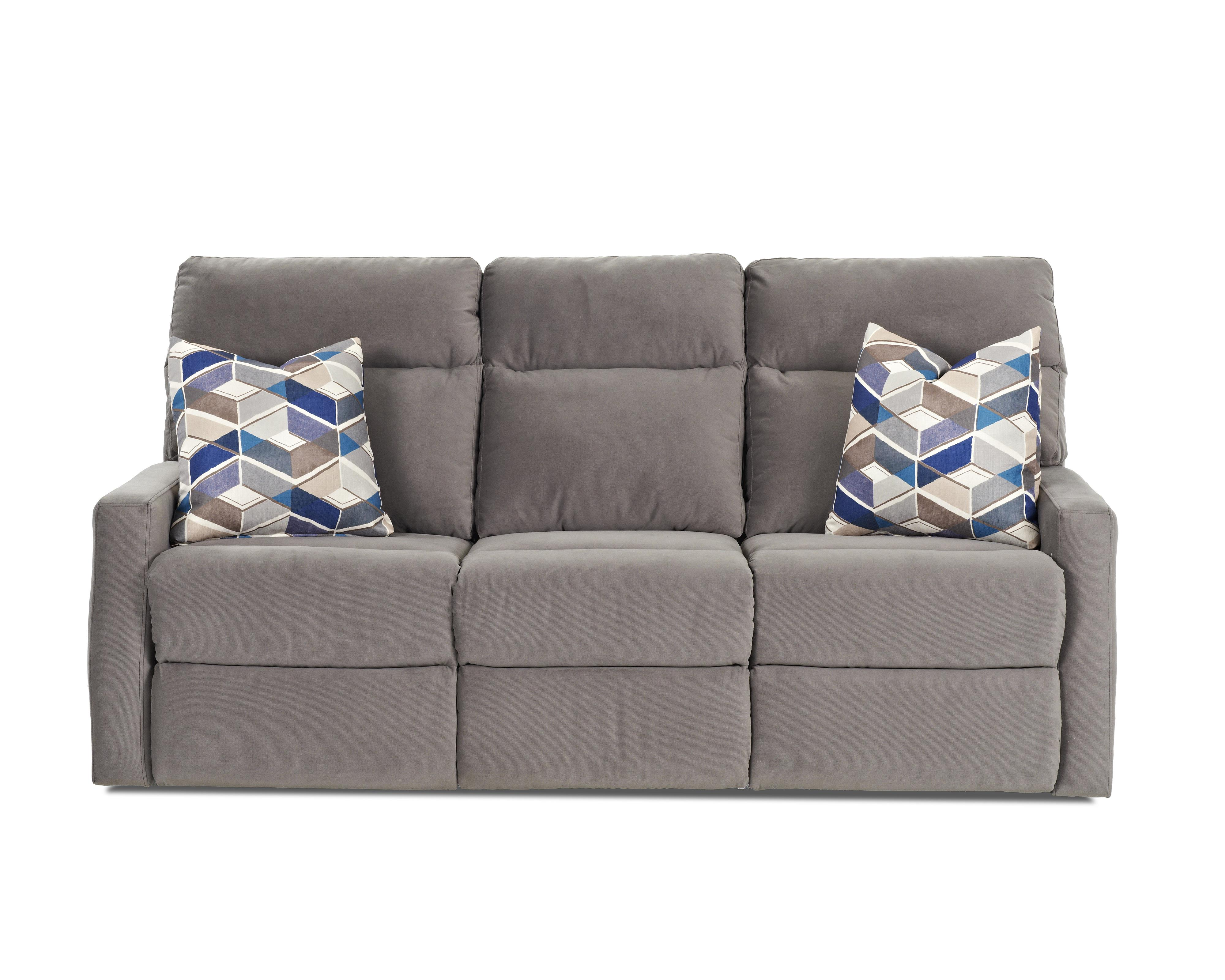klaussner grand power reclining sofa sectional canada monticello with soft track